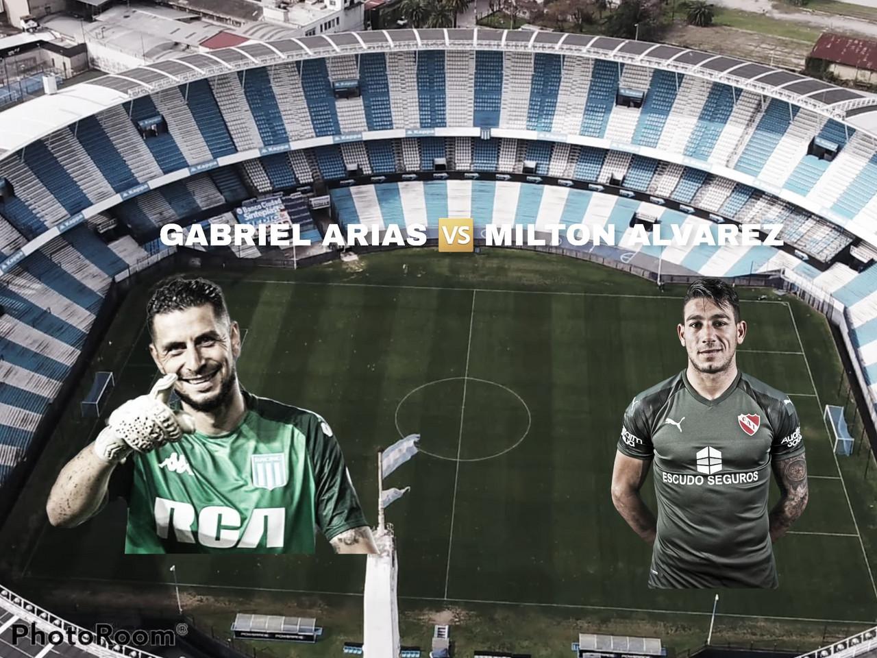 Gabriel Arias vs Milton Álvarez: ayer con sueños en el ascenso y hoy en primera