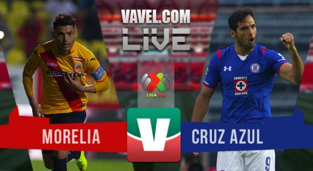Resultado Monarcas Morelia - Cruz Azul Liga MX 2015(2-0)