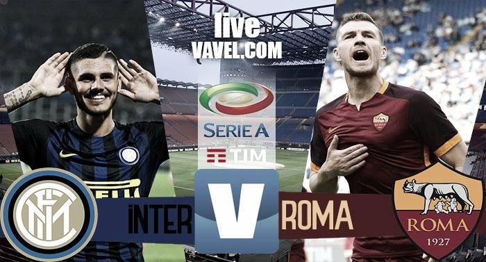 Risultato Inter 1-3 Roma in Serie A 2016/17: Nainggolan (2), Icardi, Perotti