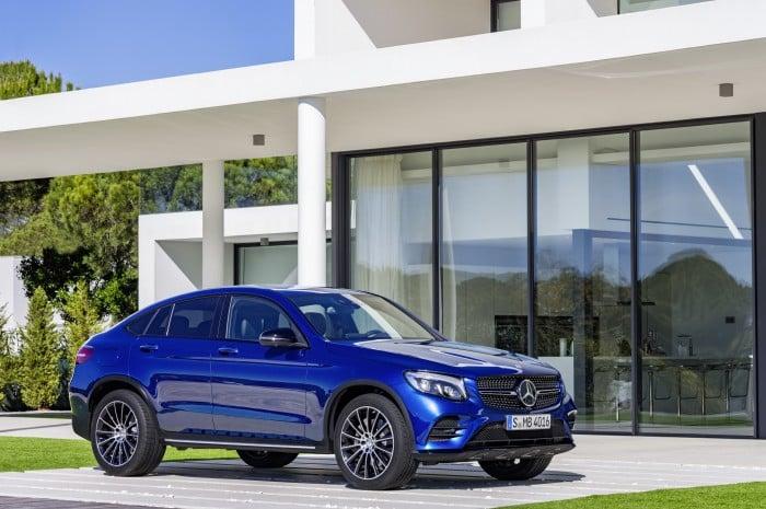 Mercedes-Benz GLC Coupé: al X4 le ha salido competencia