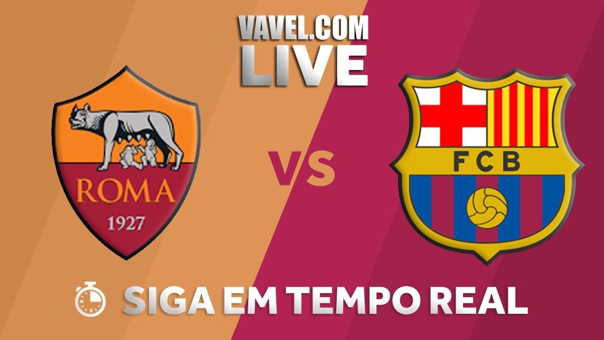 Resultado Roma x Barcelona pela Uefa Champions League 2017/18 (3-0)