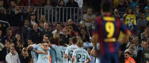 برشلونة يسقط امام سلتا فيغو ويخسر الصدارة