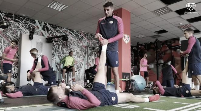 Sesión con menor carga física en la Ciudad Deportiva