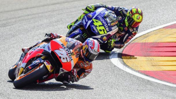 MotoGP Aragon. Rossi-Pedrosa: pista batte classifica