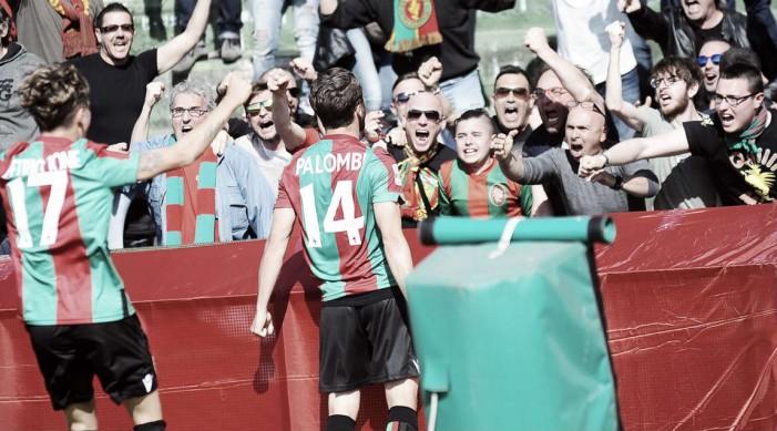 Serie B: tracollo Frosinone, vince la Ternana grazie ad una doppietta di Palombi (2-0)