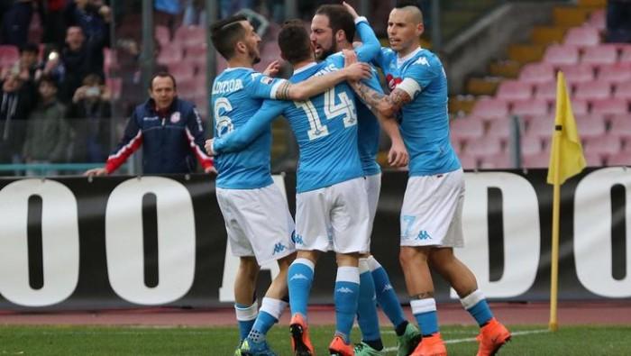 """Vittoria di rigore per il Napoli, Higuain: """"Andiamo avanti ed ora pensiamo alla Juventus"""""""