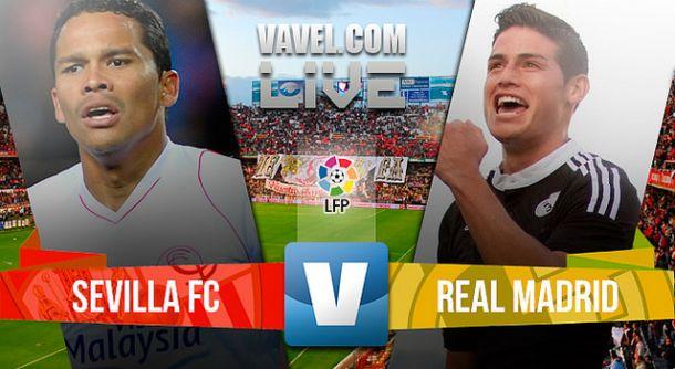 Resultado Sevilla - Real Madrid en liga BBVA 2015 (2-3)