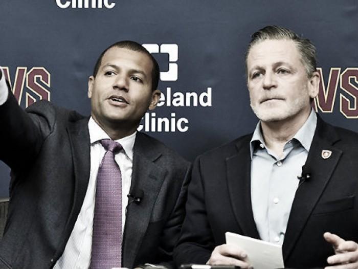 NBA, i Cleveland Cavs presentano il nuovo GM Koby Altman