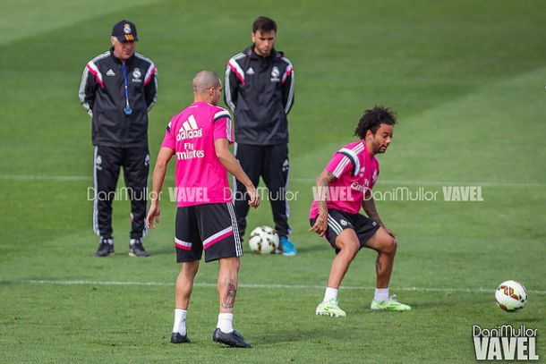 Primer entrenamiento pensando en el Almería