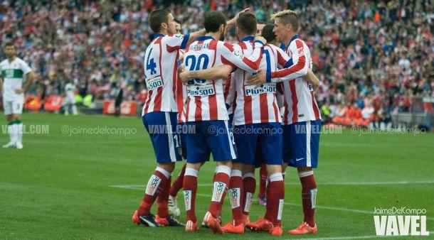 Atlético de Madrid - Elche: puntuaciones del Atlético, jornada 33 de Primera División