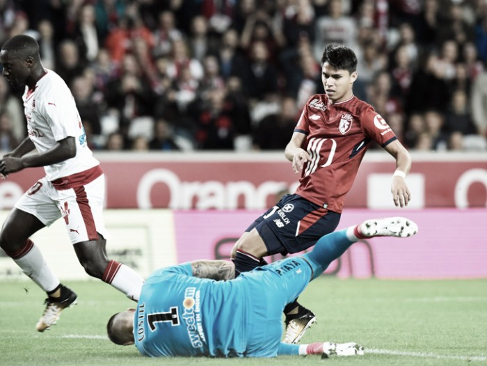 Thiago Maia é expulso e Lille empata sem gols com Bordeaux na Ligue 1