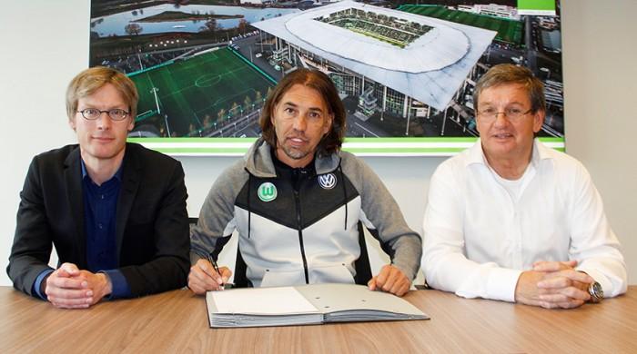 Martin Schmidt handed reigns at Wolfsburg