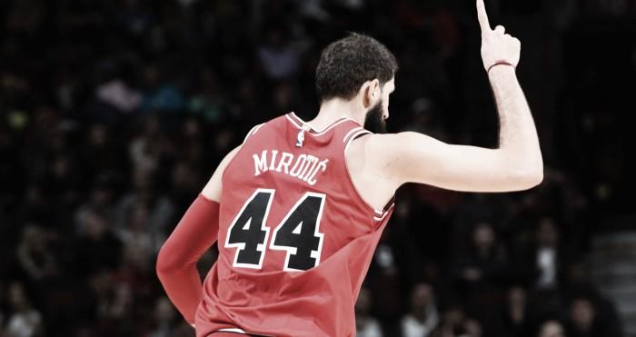 Los Bulls, 4-0 desde el regreso de un gran Nikola Mirotic