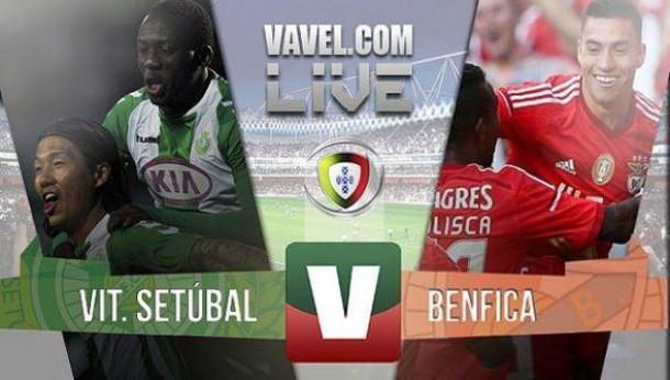 ResultadoVitória Setúbal 2-4 Benfica na Liga NOS 2015