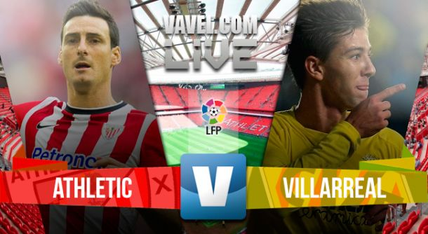 Resultado del Athletic vs Villarreal en Liga BBVA 2015 (4-0)
