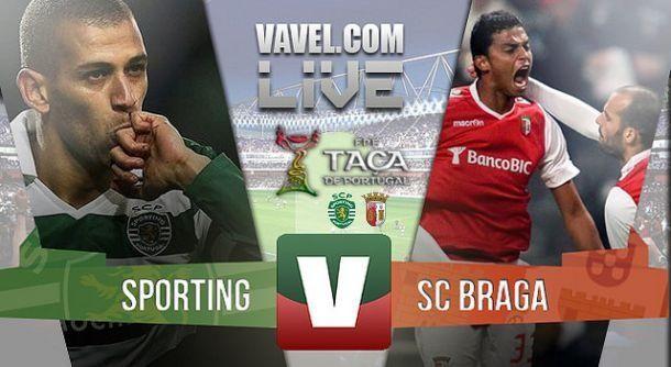 Resultado Sporting x Braga na final da Taça de Portugal 2015 (2-2)