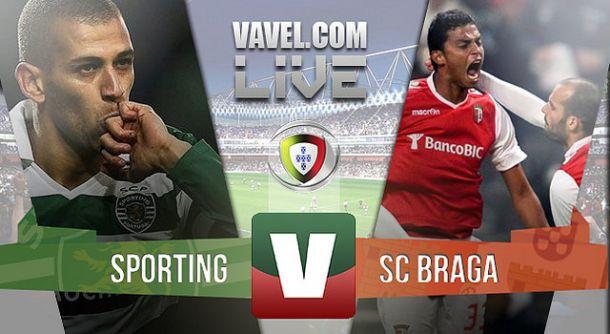 Resultado Sporting x Braga na Primeira Liga (4-1)