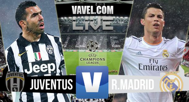 Juventus Turin vs Real Madrid en direct en Ligue des Champions 2015 (2-1)