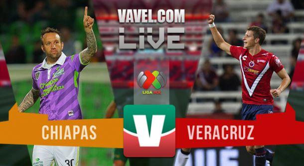 Resultado Chiapas - Veracruz en Liga MX 2015 (1-1)