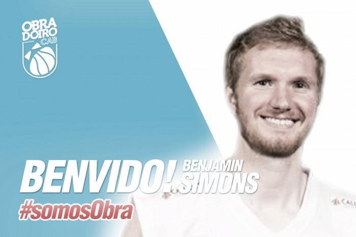 Benjamin Simons cierra la plantilla de Obradoiro