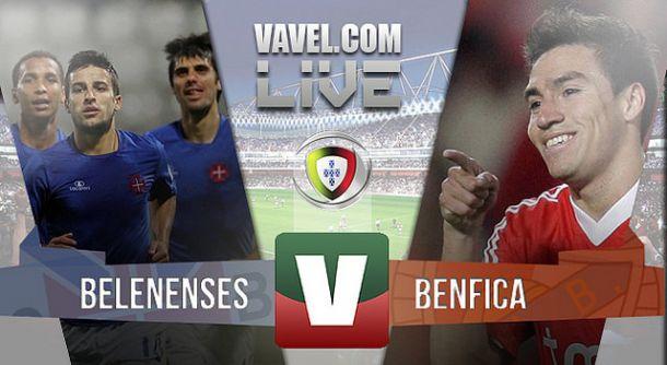 Resultado Belenenses x Benfica na Primeira Liga 2015 (0-2)