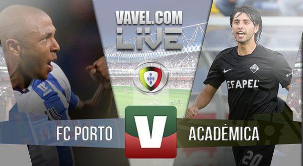 Resultado FC Porto x Académicana Primeira Liga 2015(1-0)