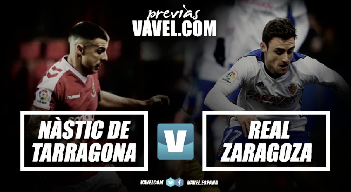 Previa Gimnàstic deTarragona – Real Zaragoza: dominar al león... en casa