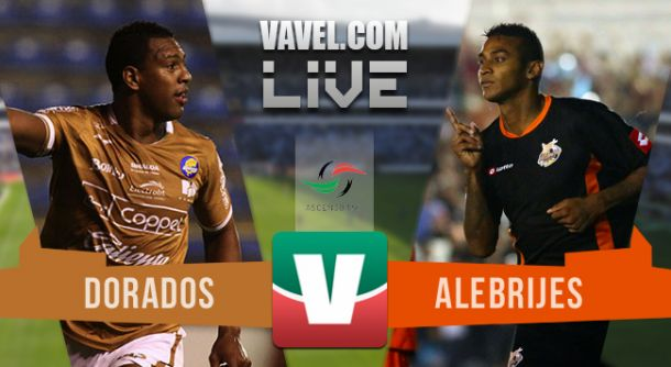 Resultado Dorados - Alebrijes en Ascenso MX 2015 (3-1)