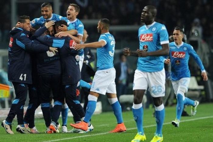 """Il Napoli va, Champions diretta ad un passo. Sarri: """"Adesso pensiamo alla finalissima col Frosinone"""""""