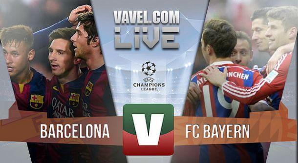 Resultado FC Barcelona x Bayern Munique na Liga dos Campeões 2015 (3-0)
