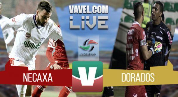 Resultado Necaxa vs Dorados en Ascenso MX 2015 (1-2)