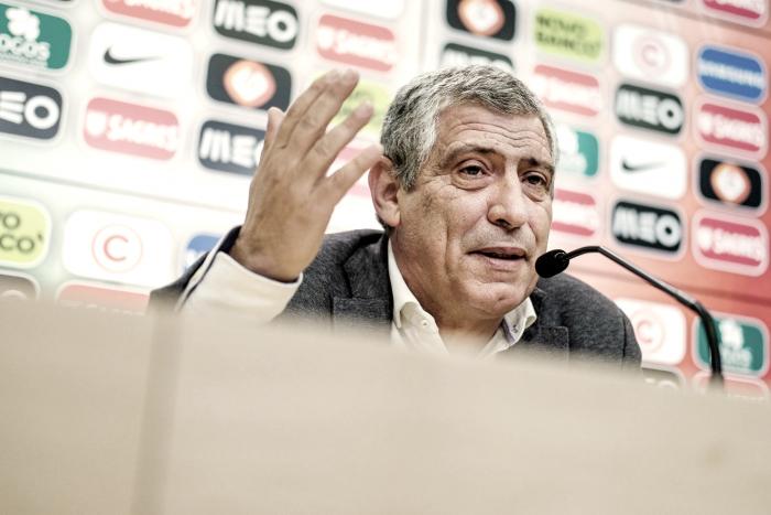Convocatória de Fernando Santos: Renato, Eliseu e Pizzi chamados, Adrien e Nani de fora por lesão