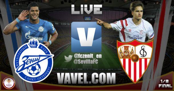 Live Zenit vs Siviglia, Diretta risultato partita di Europa League (2-2)