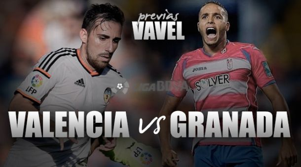 Valencia CF - Granada CF: dar un golpe en la adversidad