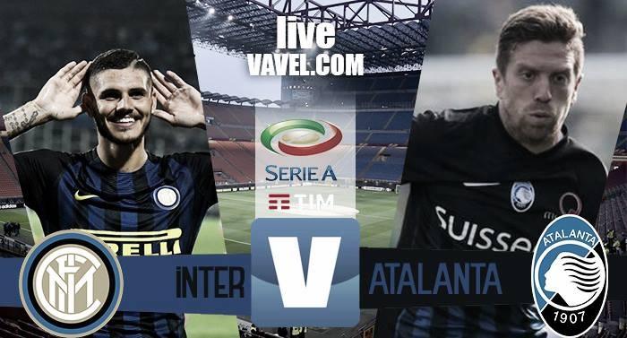 Risultato Inter - Atalanta in Serie A 2016/17 - Icardi(3), Banega (3), Freuler, Gagliardini!(7-1)