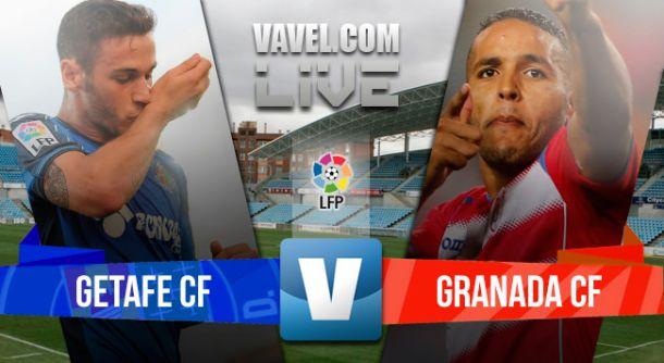Resultado Getafe vs Granada en la Liga BBVA 2015 (1-2)
