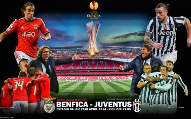 Benfica enfrenta o colosso Juventus