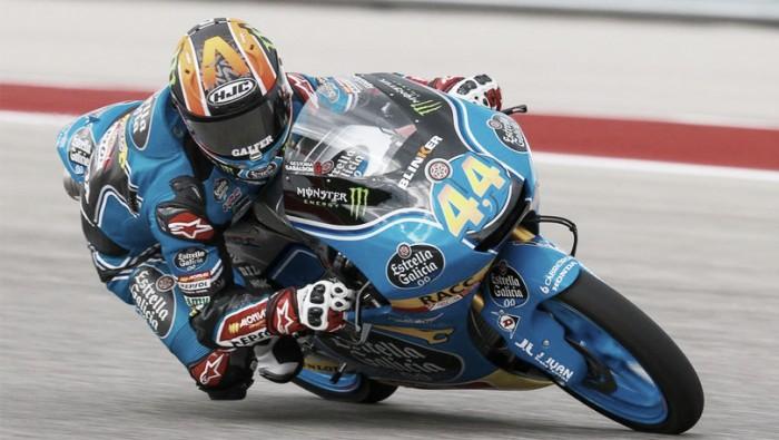 Moto3, Gp Germania: Mir svetta nelle fp2, fratture per Martin dopo caduta