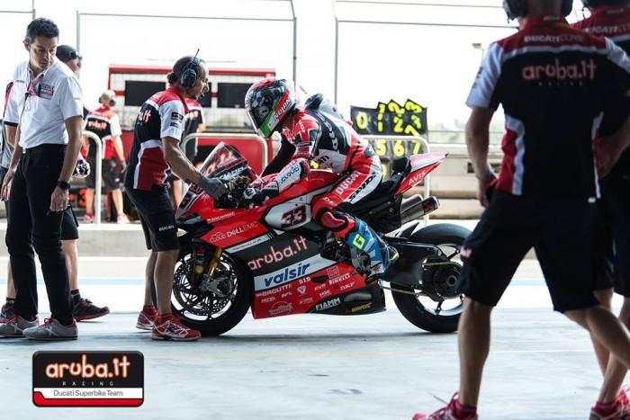 Sbk - Test Ducati a Misano