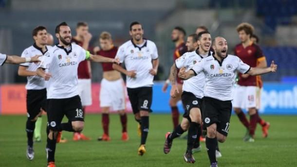 Coppa Italia - Lo Spezia conquista l'Olimpico