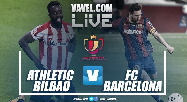 Resumen Athletic Club vs Barcelona (0-4) en la Copa del Rey