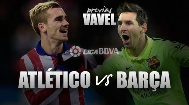 Barcelona enfrenta Atlético de Madrid precisando vencer para se tornar campeão da Liga