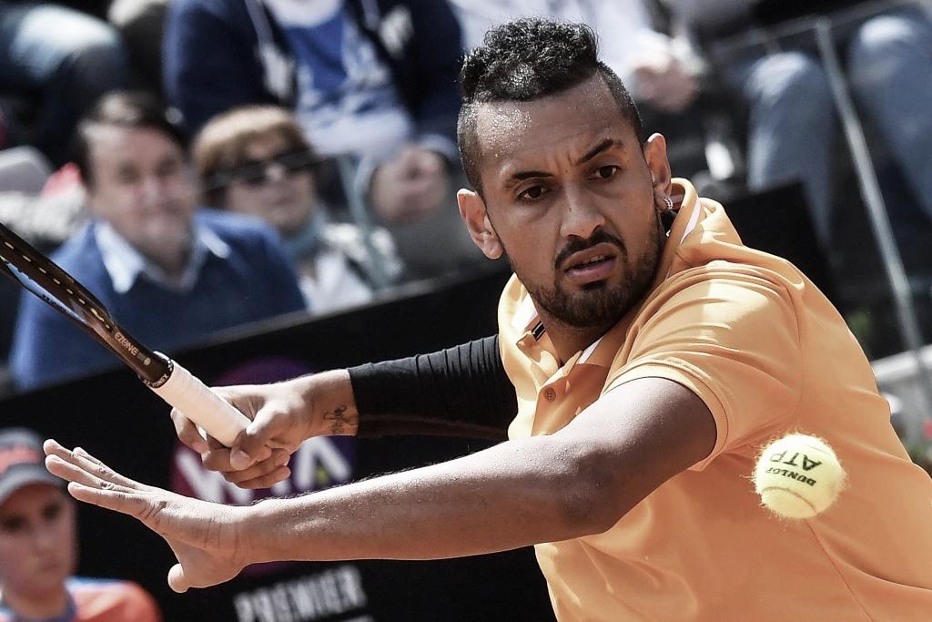 Kyrgios bate Medvedev e estreia com vitória no Masters 1000 de Roma