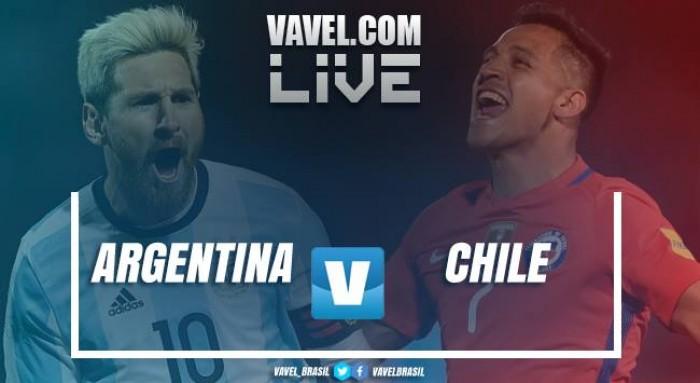 Jogo Argentina x Chile ao vivo e hoje nas Eliminatórias Copa do Mundo 2018 (1-0)