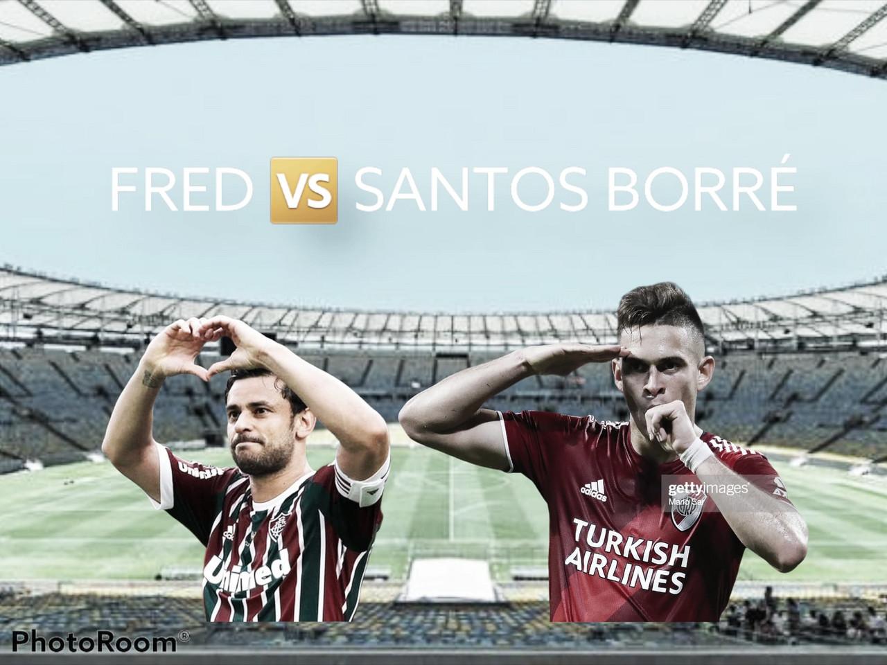 Fred vs Santos Borré: la carta de gol y con experiencia por Europa