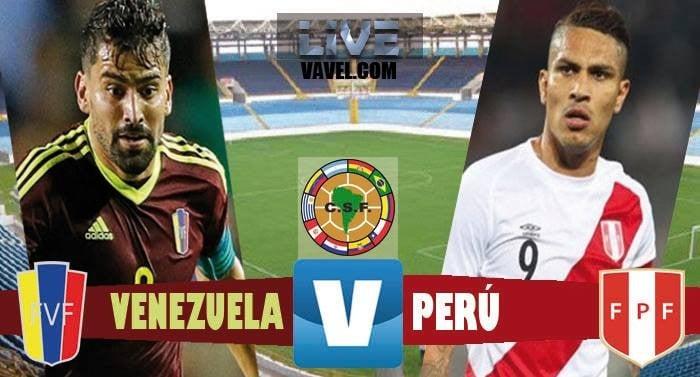 Resultado Venezuela vs Perú por Eliminatorias al Mundial 2018 (2-2)
