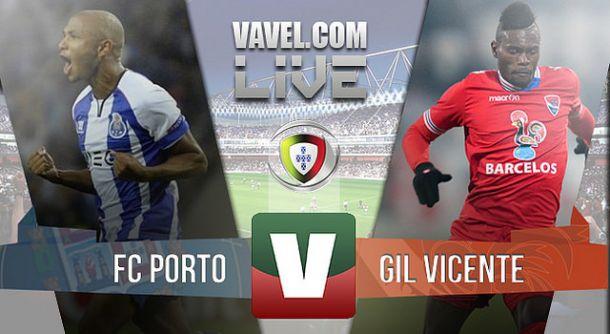 Resultado Porto x Gil Vicente na Primeira Liga 2015 (2-0)