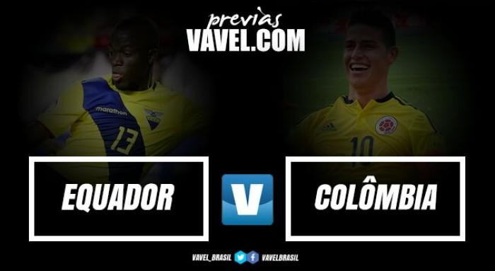 Lutando por vaga na Copa, Equador e Colômbia medem forças nas eliminatórias