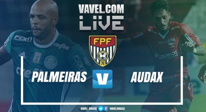 Palmeiras empata com o Audax pelo Campeonato Paulista (2-2)