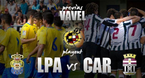 Las Palmas Atlético - FC Cartagena: la batalla definitiva